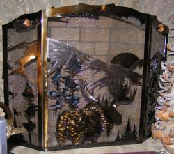 Metal art Firescreens