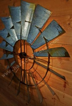 Windmill head wall art