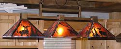 Kitchen bar and Billard lighting
