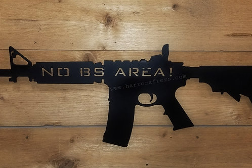 AR-15 Man Cave sign
