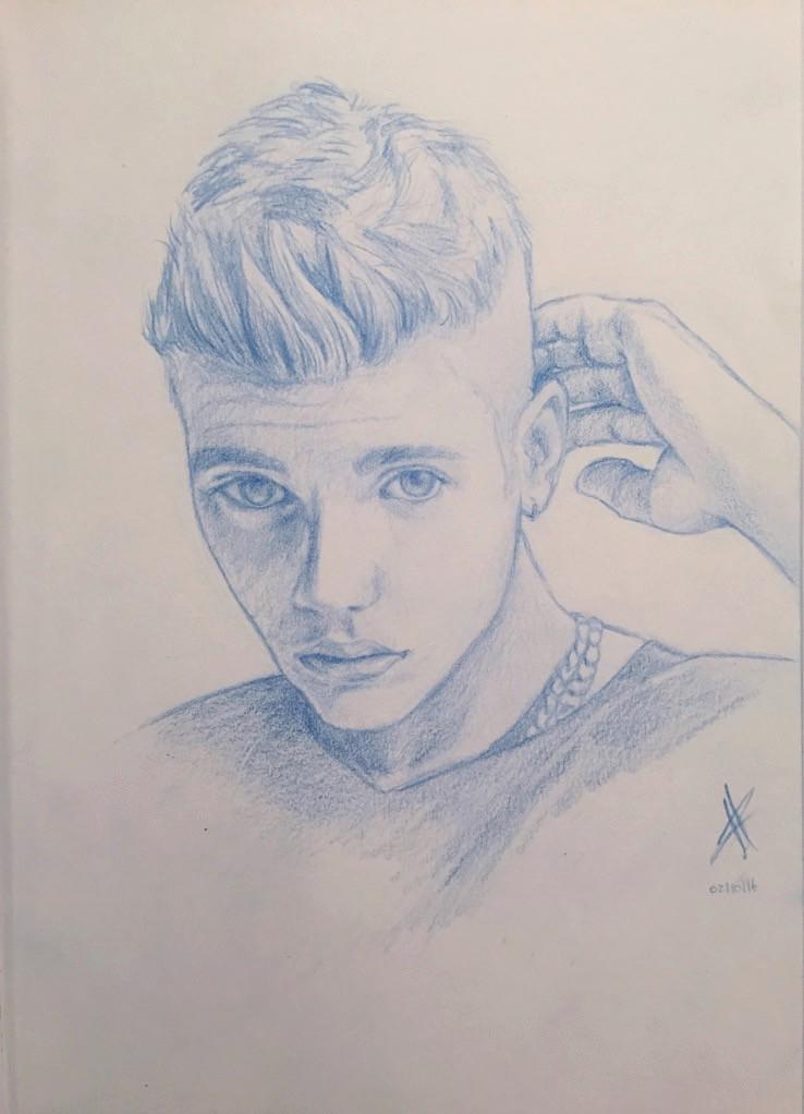 Justin Bieber Portrait