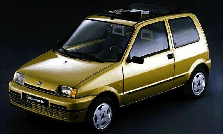 Ammortizzatori anteriori Fiat Cinquecento (170) da 92-98