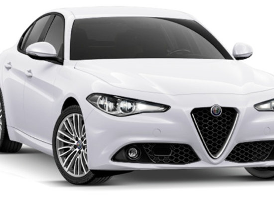 Pair of rear shock absorbers for Alfa Romeo Giulia from 2016