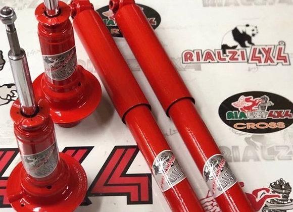 Pair of shock absorbers 3-4-5 cm raised height CHEROKEE KJ 09 / 01..02.08