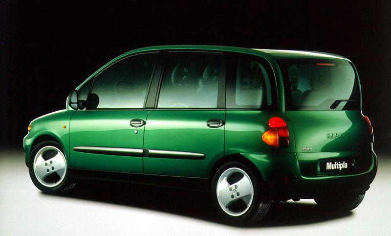 Ammortizzatori anteriori Fiat Multipla (186) da 1998