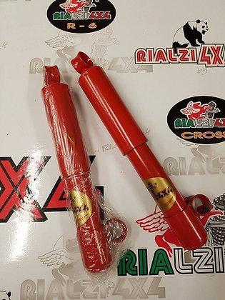 Rear shock absorbers 5 cm raised height Panda 4x4 first series from 1980 to 2003