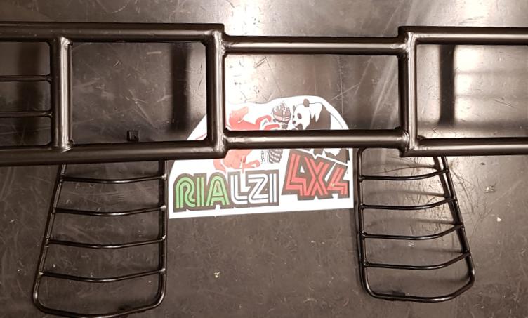 Paravacche panda 4x4 fino 2003 con protezioni fari posteriori