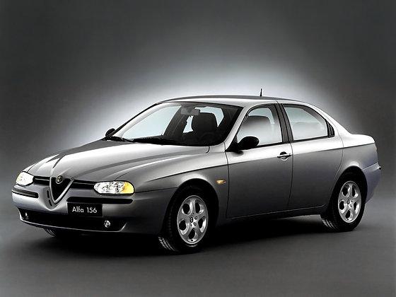 Rear shock absorbers Alfa Romeo 156 from 1997