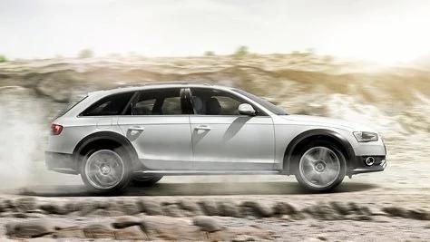 Coppia di ammortizzatori anteriori Audi A4 AllRoad 2009-2016