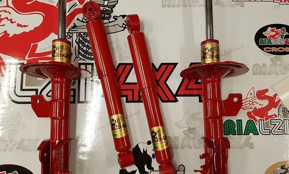 Kit 6 cm R-6 panda 4x4 seconda serie da 2003 a 2013