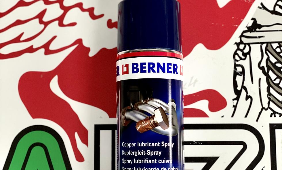 Grasso al rame spray BERNER