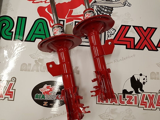 Front shock absorbers R-6 Panda 4x4 3 cm raised height second series from 2003 to 2013
