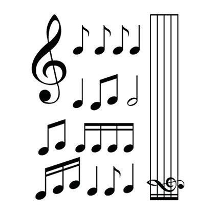 Adesivo chiave di violino