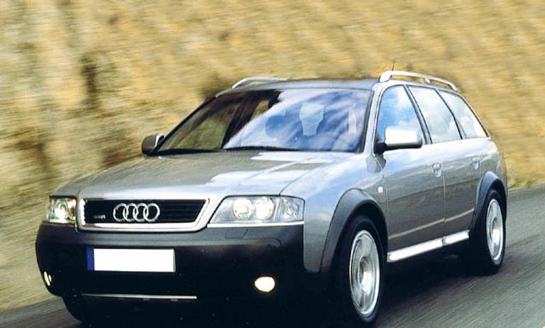 Coppia di ammortizzatori posteriori Audi A6 AllRoad 2000-2006