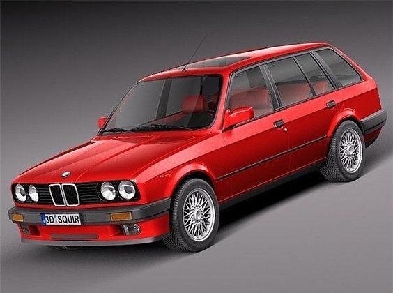 Ammortizzatori posteriori BMW Serie 3 316-318-320i (E30) 6 cilindri da 82-90