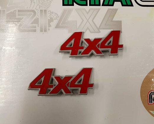 Side 4x4 emblems Panda 4x4