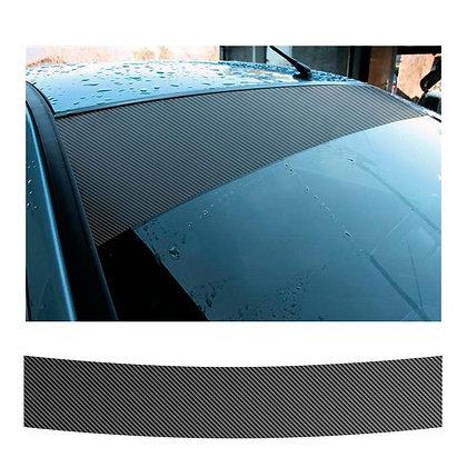 Fascia parasole carbon look