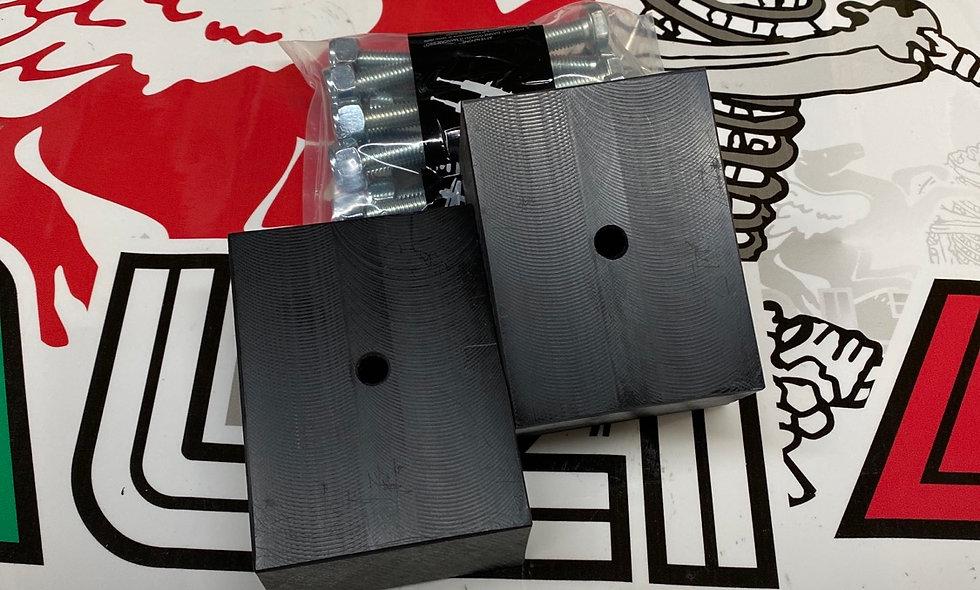 Kit spessori posteriori Lancia Y10 4x4, altezza 3 cm