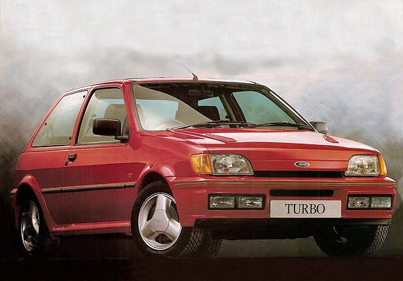 Rear shock absorbers Ford Fiesta Turbo from '90 to '93