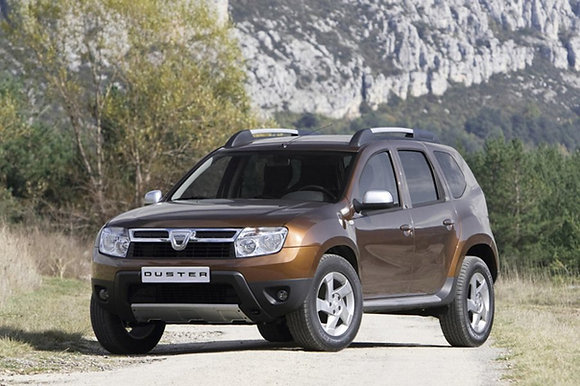 Reinforced front shock absorbers Dacia Duster 2wd first series