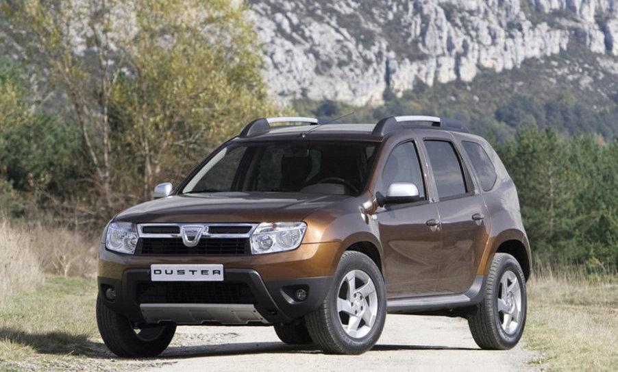 Ammortizzatori anteriori rinforzati Dacia Duster 2wd prima serie
