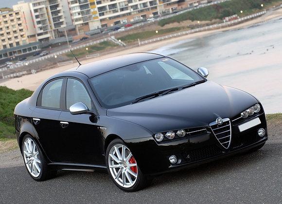 Front shock absorbers Alfa Romeo 159 Berlina / Sportwagon (939) 4WD
