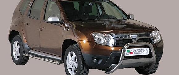 Bull bar inox Dacia Duster 2010 > Ø 63mm