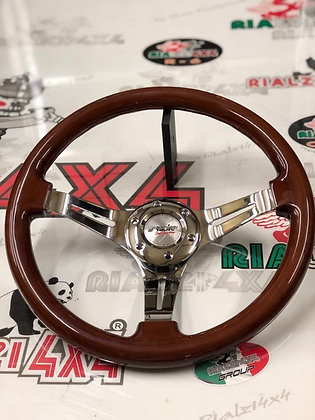 Steering wheel - Didier in wood