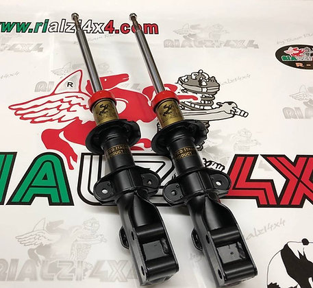 Front shock absorbers 3 cm raised height Panda 4x4 first series from 1980 to 2003