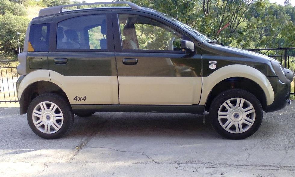 Kit 4 cm PRO RAID panda 4x4 seconda serie da 2003 a 2013