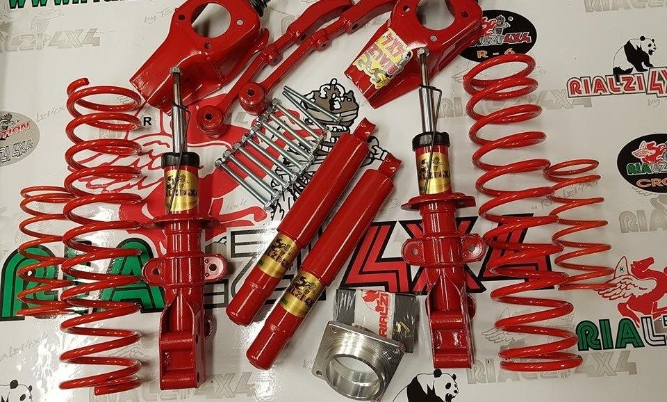 Kit extremo panda 4x4 prima serie da 1980 a 2003 altezza 11 cm