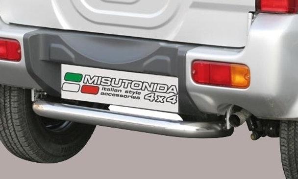 Protezione posteriore inox Suzuki Jimny 06-12 Ø 63mm