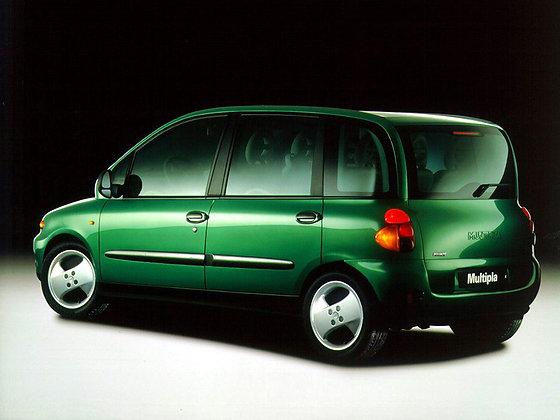 Rear shock absorbers Fiat Multipla (186) since 1998