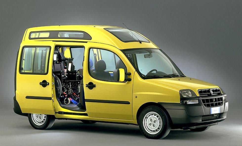 Ammortizzatori anteriori Fiat Doblò Panorama (119-223) s/ABS da 2000