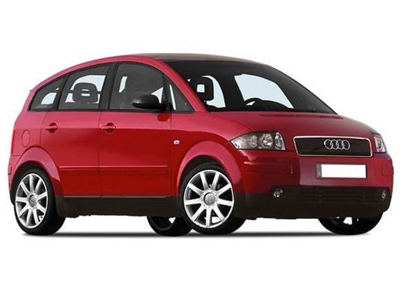 Rear shock absorbers for Audi A2 (8Z) from 1999