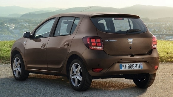 Front shock absorbers Dacia Sandero since 2008