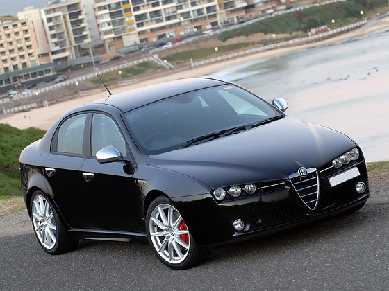 Rear shock absorbers Alfa Romeo 159 Berlina / Sportwagon (939) 4WD