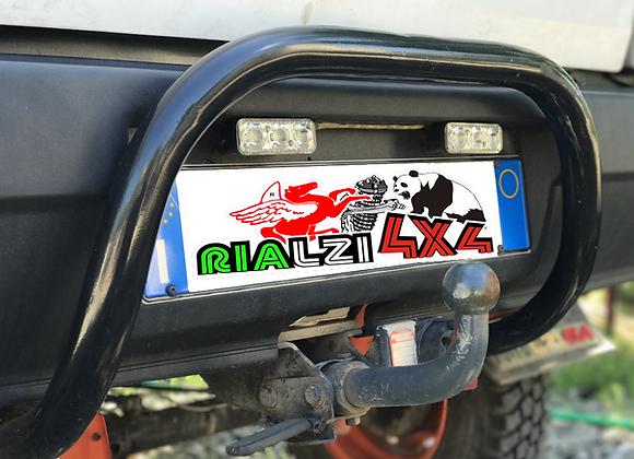 Rear mini max bull bar Panda 4x4/ 2wd