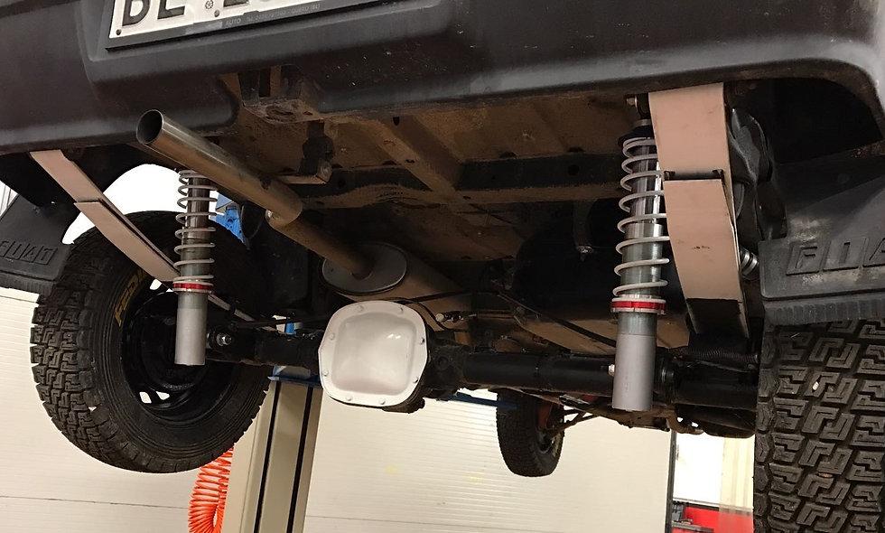 Kit ammortizzatori posteriori regolabili panda 4x4 prima serie LINEA R-40 EVO