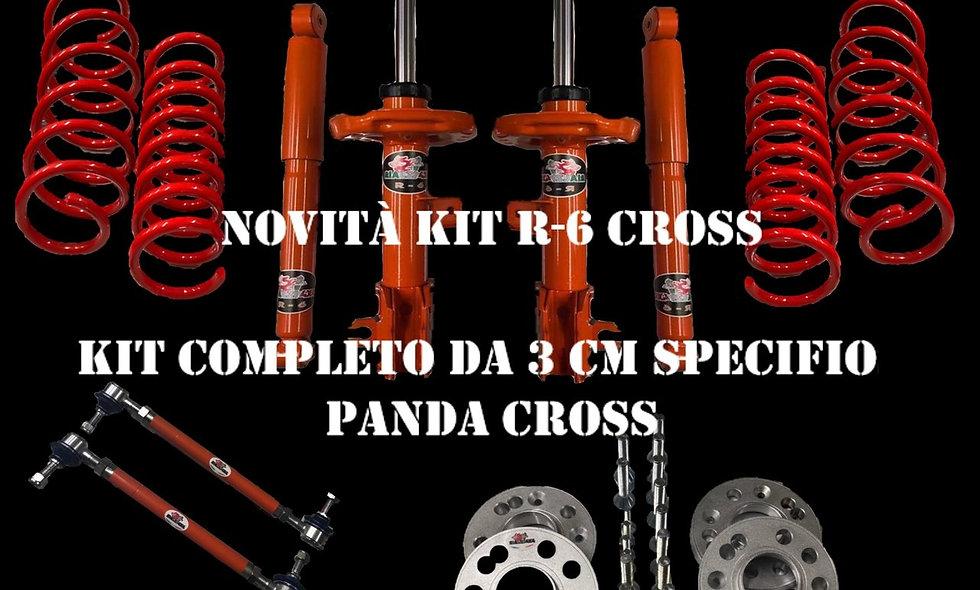 Kit 3 cm R-6 panda 4x4 ultima serie da 2013 NOVITA' ESLUSIVA
