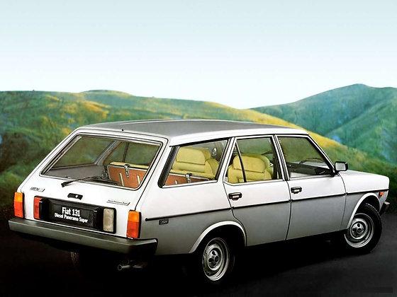 Ammortizzatori posteriori Fiat 131 II Diesel Panorama Familiare fino 1981