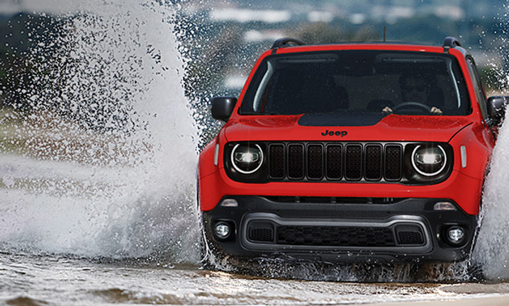 Kit rialzo 3 cm per Jeep Renegade 4x4