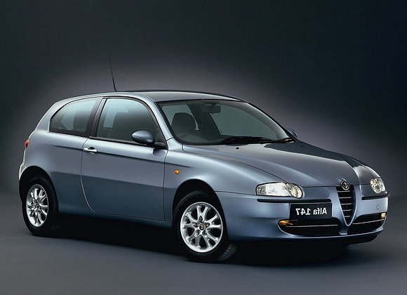 Rear shock absorbers Alfa Romeo 147 (937) from 2001