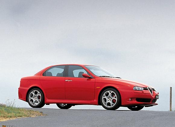 Rear shock absorbers Alfa Romeo 156 4x4 (932) Crosswagon