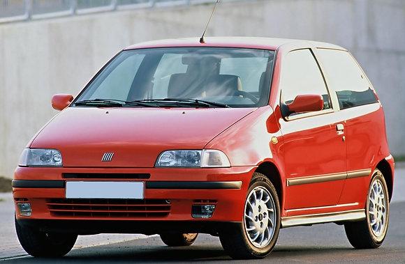 Rear shock absorbers Fiat Punto I series GT-Sporting (176) until 1999