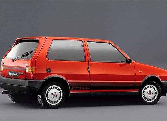 Rear shock absorbers Fiat Uno Turbo ie Gasoline-TD since '85-'89