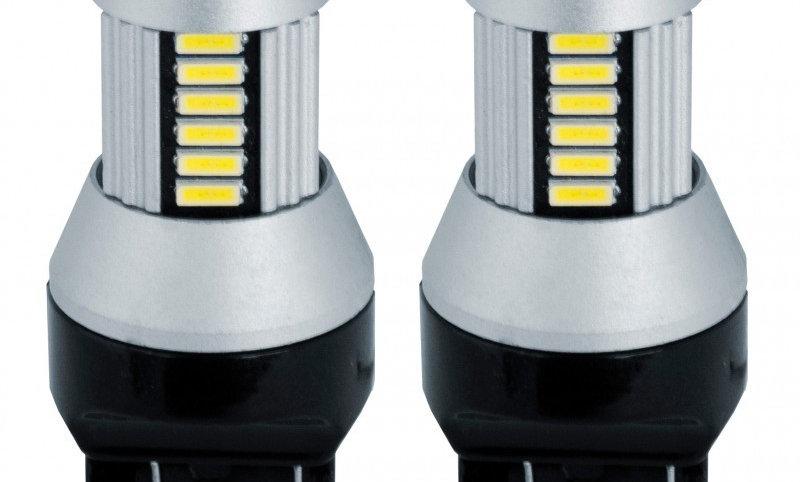 Kit 2 lampadine T20 doppio filamento 30 microled
