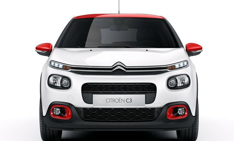 Front shock absorbers Citroen C3 from 2017