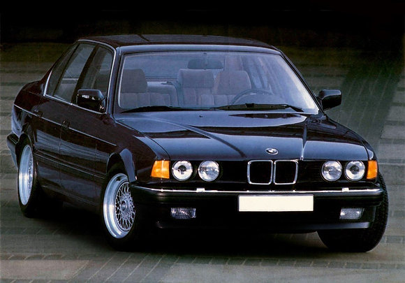 Rear shock absorbers BMW 7 Series (E32) since '90-'94
