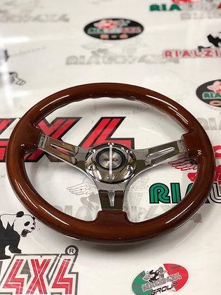 Steering wheel - Dijon in wood